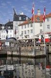 Het Vest van Nyhavn Royalty-vrije Stock Foto's
