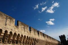 Het Vestingwerk van Avignon Stock Afbeeldingen