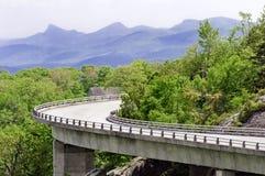 Het Viaduct van de Inham van Linn stock foto