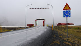 Het Viaduct van de pijpleiding Stock Fotografie