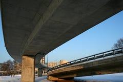 Het viaduct van de zuidenbrug Royalty-vrije Stock Foto