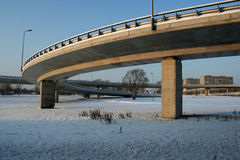 Het viaduct van de zuidenbrug Stock Afbeeldingen