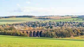 Het Viaduct van Eynsford stock foto's