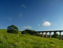 Het viaduct van Hevenden Royalty-vrije Stock Afbeeldingen