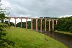Het viaduct van Leaderfoot Stock Fotografie