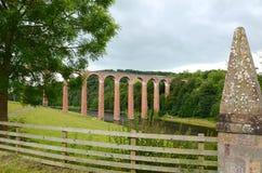 Het viaduct van Leaderfoot Stock Foto's