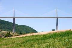 Het Viaduct van Millau Stock Afbeelding