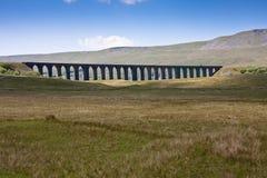Het viaduct van Ribblehead Stock Foto