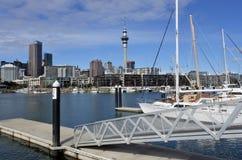 Het Viaducthaven van Auckland stock afbeelding