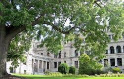 Het victoria-parlement gebouwen Stock Afbeelding