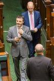 Het Victoriaanse Parlement van de Staat - Vragenuur Royalty-vrije Stock Afbeelding