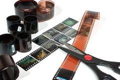 Het video uitgeven Royalty-vrije Stock Afbeeldingen