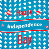 Het vierde van Juli, Amerikaanse Onafhankelijkheidsdag Royalty-vrije Stock Foto's