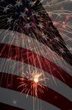 Het vieren Amerika Samenstelling Stock Afbeeldingen