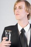 Het vieren - barman Royalty-vrije Stock Afbeeldingen