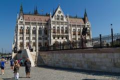 Het vieren St Stephen Dag in Boedapest Royalty-vrije Stock Afbeeldingen
