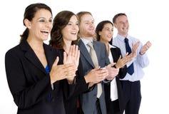 Het vieren Succes Stock Afbeelding