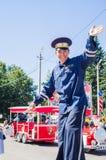 Het vieren van de dag van Medyn in het Kaluga-gebied van Rusland stock foto's