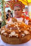 Het vieren van de Dag van Rusland Royalty-vrije Stock Afbeeldingen