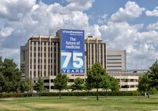 Het vieren van de 75ste verjaardag van het Medische Centrum van UTSouthwestern, Dallas texas royalty-vrije stock foto
