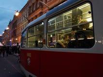 Het vieren van 25ste verjaardag van de Fluweelrevolutie in Praag Stock Foto's