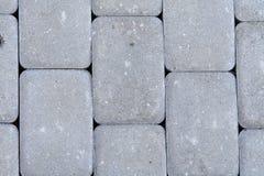 Het vierkant van Beton Stock Afbeelding