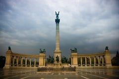Het Vierkant van Boedapest van Helden royalty-vrije stock fotografie