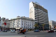 Het vierkant van Casablanca de Verenigde Naties royalty-vrije stock afbeelding