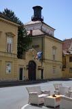 Het Vierkant van Catherine, Zagreb stock afbeeldingen