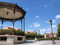 Het Vierkant van Cervantes van Alcala Stock Afbeelding