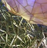 Het Vierkant van de federatie, Melbourne Stock Foto