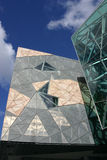 Het Vierkant van de federatie, Melbourne Royalty-vrije Stock Afbeeldingen