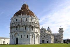 Het Vierkant van de Kathedraal van Pisa Royalty-vrije Stock Afbeelding