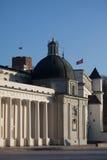 Het vierkant van de kathedraal in Vilnius Royalty-vrije Stock Fotografie