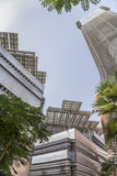 Het vierkant van de Masdarstad Stock Foto