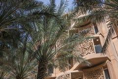 Het vierkant van de Masdarstad Royalty-vrije Stock Afbeelding