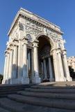 Het vierkant van de overwinning in Genua royalty-vrije stock afbeeldingen