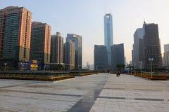 Het Vierkant van de Post van het Plein CITIC en van het Oosten Guangzhou royalty-vrije stock afbeelding