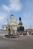Het vierkant van de Senaat in Helsinki royalty-vrije stock foto