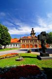 Het vierkant van de stad Royalty-vrije Stock Fotografie