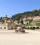 Het Vierkant van de stad in Deir Gr Qamar, Libanon Royalty-vrije Stock Afbeelding