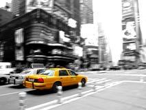 Het vierkant van de taxi af en toe Stock Fotografie