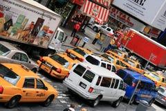 Het Vierkant van de tijd - New York Stock Foto's