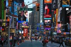 Het Vierkant van de tijd in New York stad Royalty-vrije Stock Fotografie