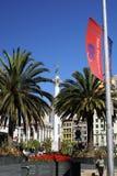Het Vierkant van de Unie van het Standbeeld van de overwinning Stock Afbeelding