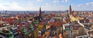 Het vierkant van de Wroclawstad royalty-vrije stock foto