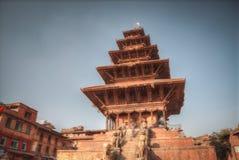 Het Vierkant van Durbar in Bhaktapur royalty-vrije stock fotografie