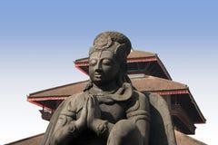 Het Vierkant van Durbar - Katmandu stock afbeeldingen
