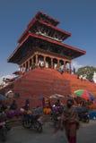 Het Vierkant van Durbar in Katmandu Stock Fotografie