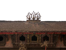 Het Vierkant van Durbar - Katmandu, Nepal Stock Fotografie